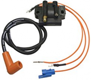 183-3737 UNIIVERSAL COIL KIT WITH WIRE & BOOTS  OMC